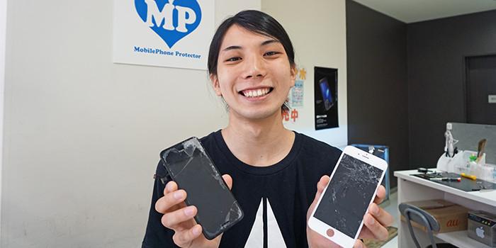 iPhone修理町田店インタビュー風景04