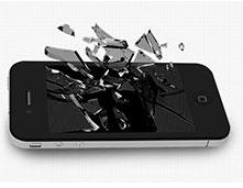 iPhone修理千葉柏液晶交換修理・フロントパネル交換修理