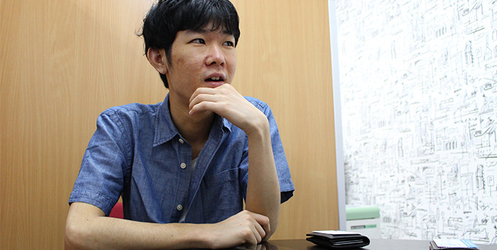 iPhone修理新宿南口店インタビュー風景03