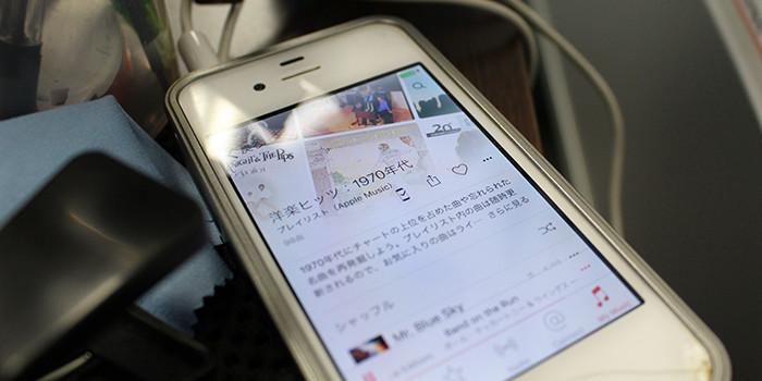 iPhone修理新宿南口店インタビュー風景09