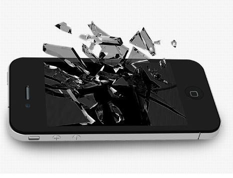 iPhoneガラス割れが最短10分で直る?iPhone画面が割れてしまったら!