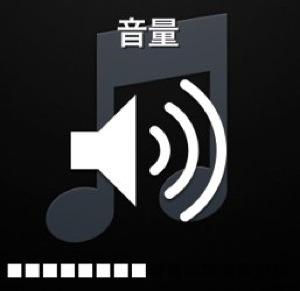 iPhoneの音量調整
