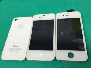 iPhone4S液晶交換