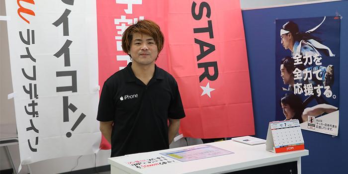 iPhone修理神奈川大和店インタビュー風景03