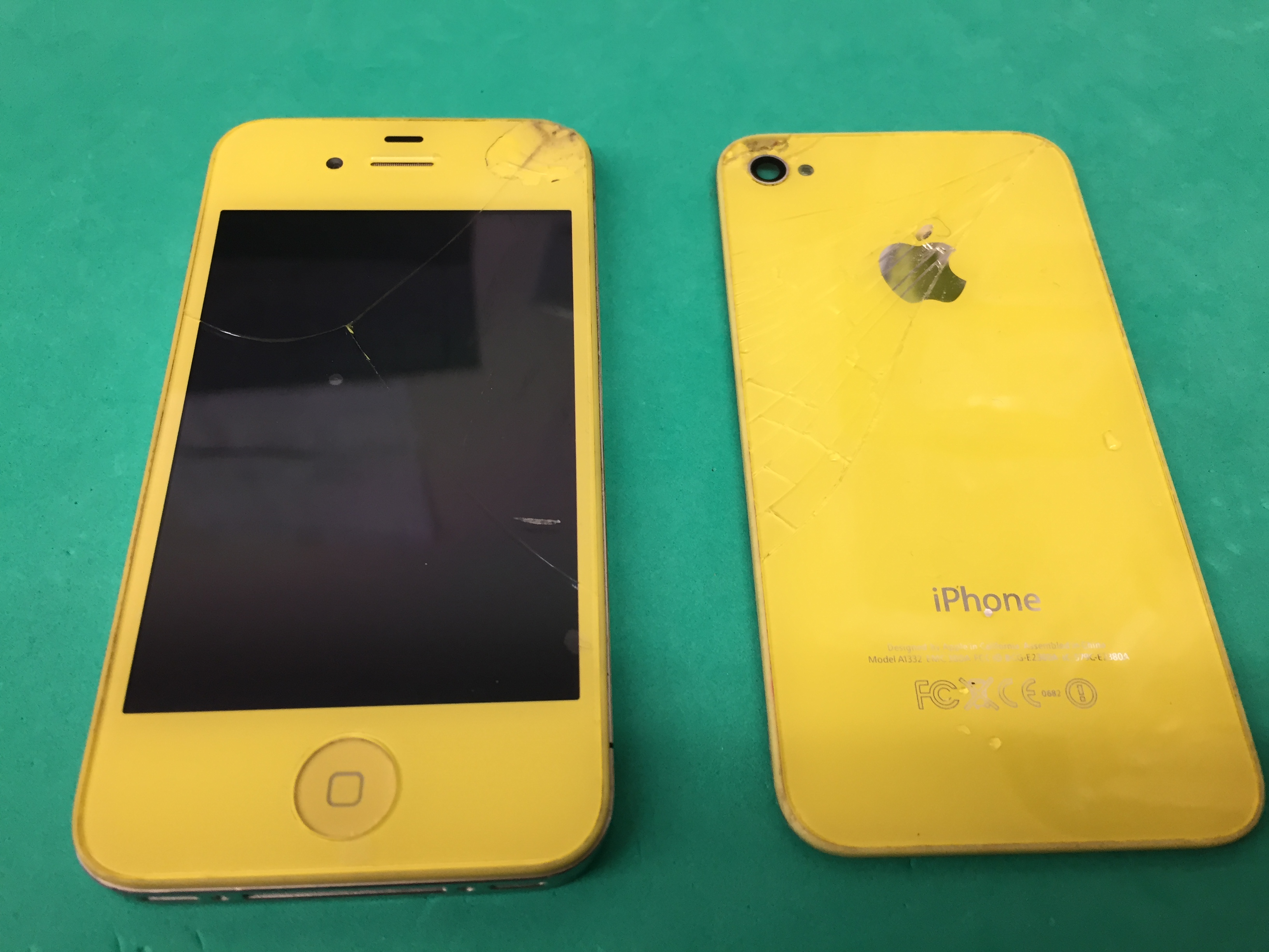 iPhone 6 PLUSの画面割れの修理!